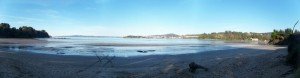 Vista desde playa de Cabana