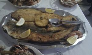 parrillada pescado el gitano