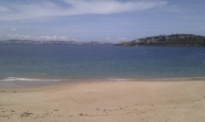 A Coruña desde Mera