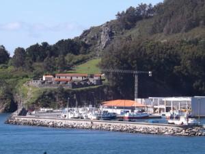 Detalle puerto Cedeira