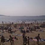 Playa de Ber, Pontedeume.