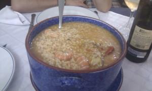 arroz marisco aguieira