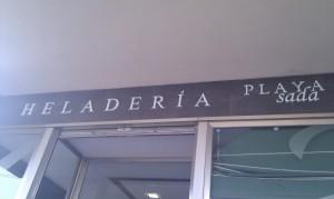 Heladeria Playa de Sada