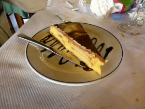 tarta galleta Restaurante Cantabrico