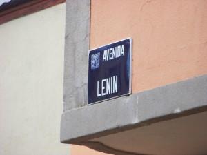 Avenida Lenin