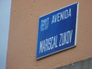 MAriscal Zhukov en Poboa Burón