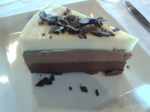 Eirado das Margaridas Tarta tres chocolates
