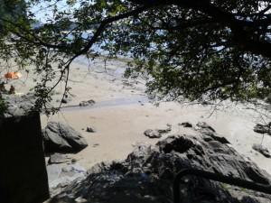 Acceso Playa de Lago