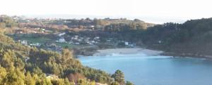 Vista de Chanterio desde la pista de Segaño