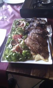 Degustación de carnes
