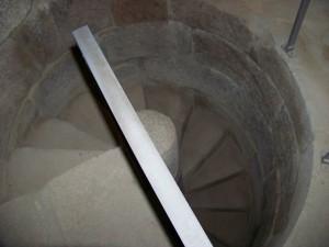 escalera caracol carboeiro