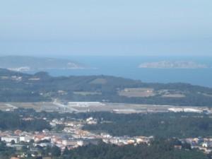Sisargas y Malpica desde Santa MArta
