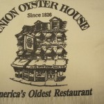 Union Oyster House. Boston.