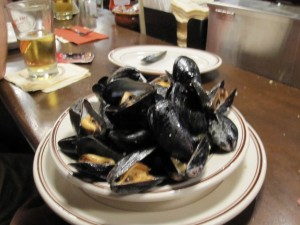 Mejillones Union Oyster house