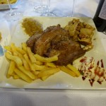 Restaurante Cantabrico, A Fonsagrada. Lugo.