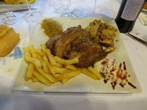 Presa Restaurante Cantabrico