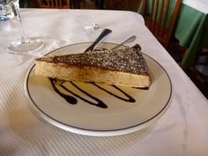 tarta castañas Restaurante Cantabrico