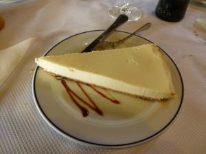 tarta queso Restaurante Cantabrico