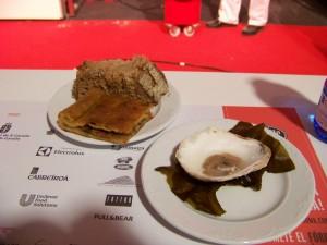 Empanada Cangrejo y Ostra