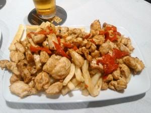 Raxo pollo O Sampaio