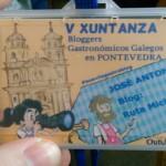 V Xuntanza de Bloggers Gastrónomicos de Pontevedra.